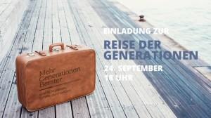 Reise der Generationen - jetzt anmelden