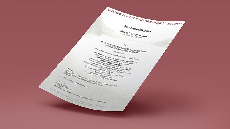 Supervisionsfortbildung für Mediatoren/innen – Heidelberger Institut für Mediation | Ausbildung